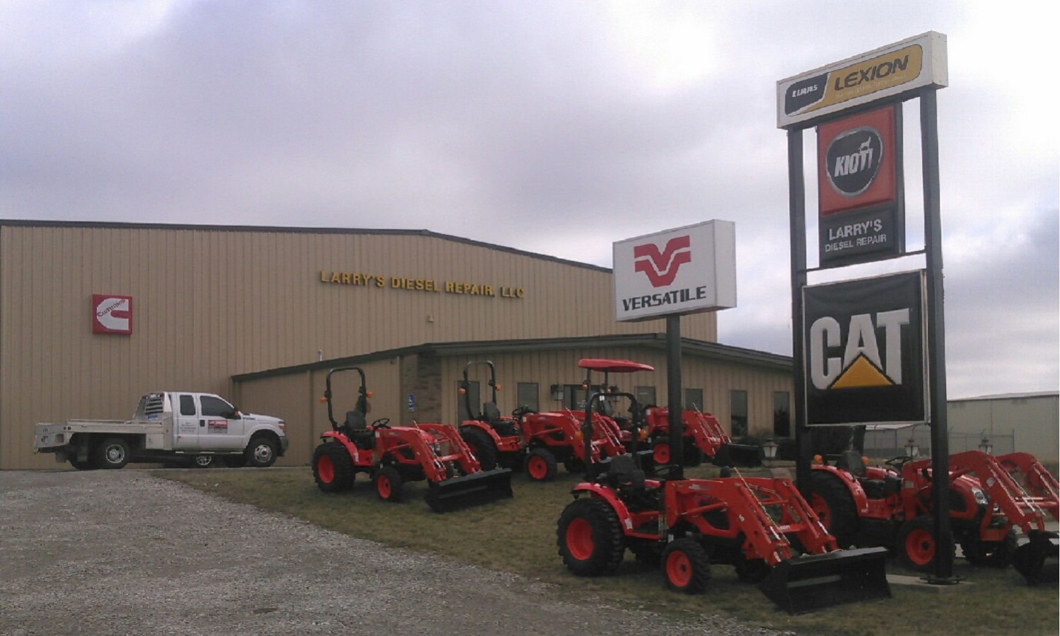 Picture of the outside of our repair shop